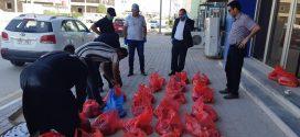 الحملة الثانية لكلية الزراعة لتوزيع المساعدات على العوائل المتعففه في ضل الظروف الصعبه